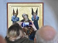 Kostol svätého Egídia v Poprade zdobí kópia obrazu Madony s anjelmi