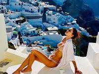 Alessandra Ambrosio na gréckom
