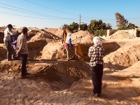 Slovenskí egyptológovia z archeologickej