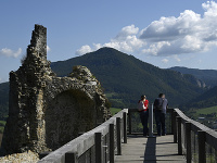 hrad Bystrica nad obcou