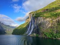 Vodopád Sedem sestier, Nórsko