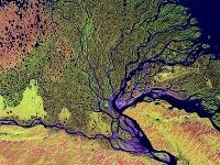 Rieka Lena pri pohľade