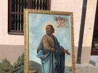 Na snímke obraz sv.