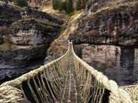 Lanový most Inkov v