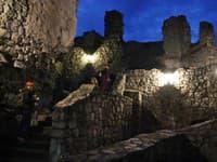 Nočný hrad Strečno