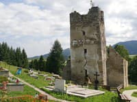 Zrúcanina gotického Kostola sv.