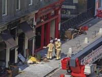 Požiar poškodil kaviareň, kde