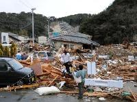Cunami a zemetrasenie ničili