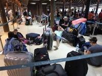 Tisíce turistov pre záplavy