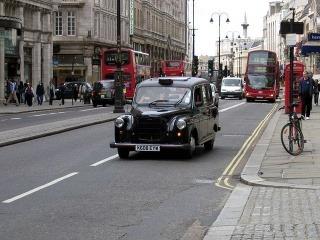 Taxík Londýn