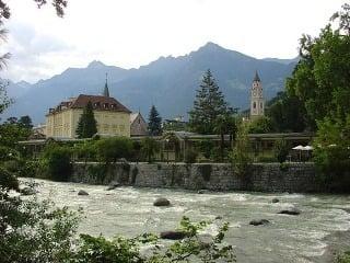 Merano rieka Passer, Taliansko