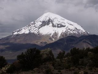 Nevado del Sajama, najvyššia