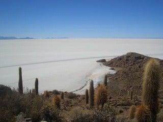 Soľná púšť - Salar