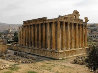 Bakchov chrám v Baalbeku,