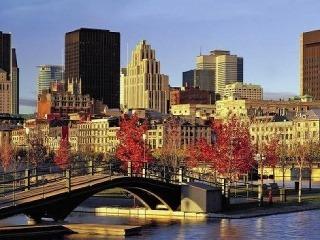 Jeseň v Montreale je