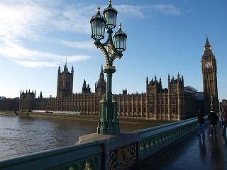 Big Ben a anglický