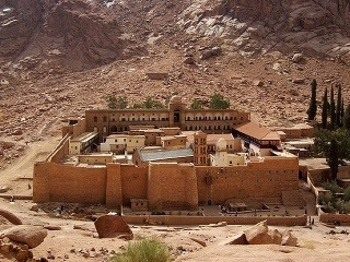 Hora Sinaj, Kláštor sv.