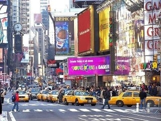 Times Square, New York,