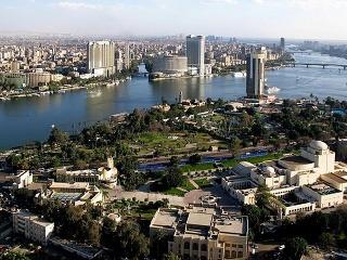 pohľad na rieku Níl