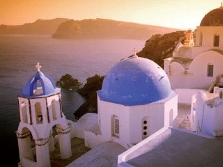 Santorini je jednou z