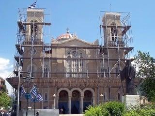 Metropolitný kostol, Atény