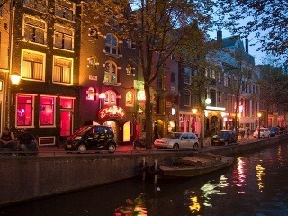 Red Light District, Amsterdam,