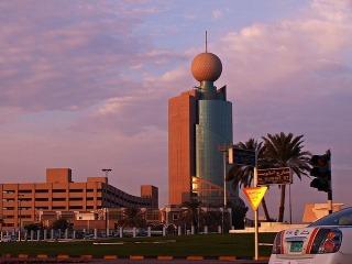 Emirát Sharjah leží v