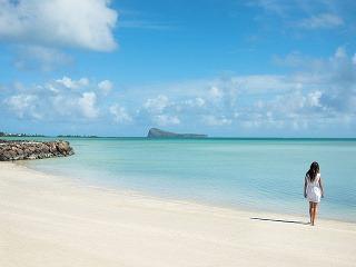 Najkrajšia pláž Maurícia leží