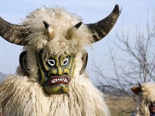 Tradičné masky slovinských fašiangov
