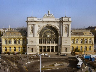 Vlaková stanica Keleti, Budapešť,
