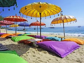 Pláž Kuta na ostrove
