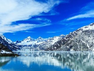 Návšteva ľadového kráľovstva: Glacier