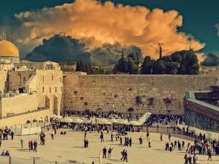 Múr nárekov, Jeruzalem, Izrael