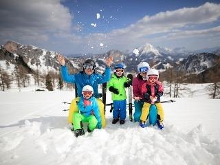 Zimný víkend s rodinou: