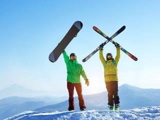 Sviatky na lyžiach: Na