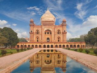 Humájúnova hrobka, Dillí, India