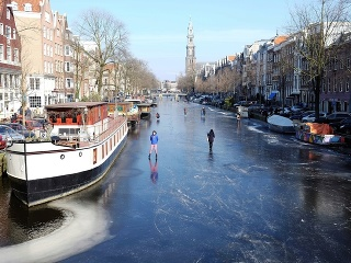 Zima v Amsterdame ponúka