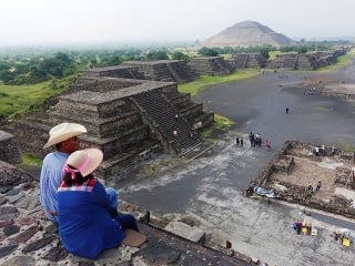 Posvätné mesto Teotihuacán, Mexiko