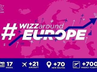 Wizz Air spúšťa najväčšiu