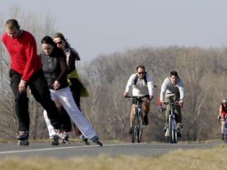 DOMA Nová cyklotrasa v