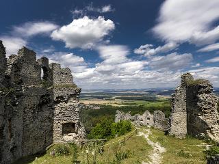 Zrúcanina hradu Korlátko v