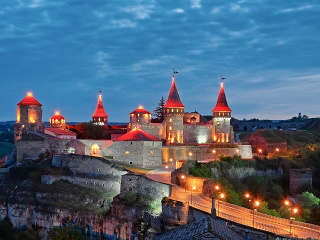 Pevnosť Kamianec, Ukrajina
