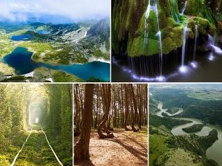 5 prírodných divov bývalého