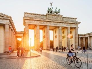 Brandenburská brána, Berlín, Nemecko