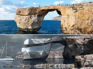 Zničený symbol Malty opäť