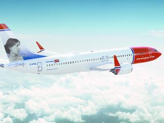 Boeing 737 MAX nórskej