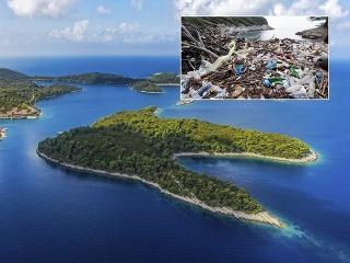 Dobrovoľníci čistili obľúbenú chorvátsku