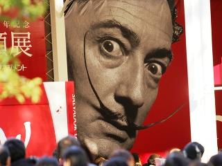 Výstredný umelec Salvador Dalí