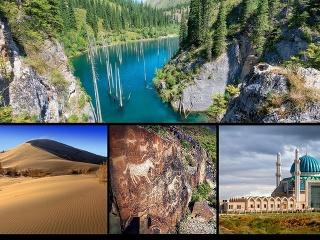 Kazachstan a jeho krásy: