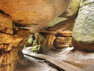 Bludné skaly v Poľsku